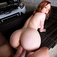 Shy Redheads Like It Big